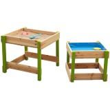 SUN Spieltisch Sand & Wasser, Natur-Grün