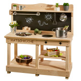 Sun Wooden Mud Kitchen