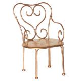 Maileg Puppenhausmöbel Vintage Stuhl für Hasen gold