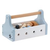 Kids Concept Werkzeugkiste, blau