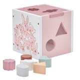 Kids Concept Steckspiel Edvin, rosa