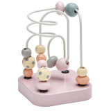 Kids Concept Mini-Kugelbahn Edvin, rosa