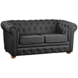 Kids Concept Sofa Chesterfield, dunkelgrau