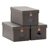 Kids Concept Schuhboxen, grau