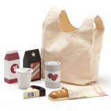 Kids Concept Einkaufstüte mit Lebensmittel