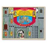Melissa & Doug Wooden Castle Blocks