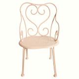 Maileg Puppenhausmöbel Stuhl für Hasen Romantic powder