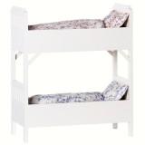 Maileg Puppenhausmöbel Etagenbett für Hasen weiss