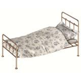 Maileg Puppenhausmöbel Vintage Bett für Hasen Mini