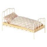 Maileg Vintage Bett, Off white