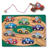 Melissa & Doug Magnetic wooden game - tow truck