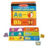 Melissa & Doug Englisches Alphabet-Puzzlebuch
