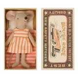 Maileg Schwester-Maus in Schachtel