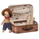 Maileg Cowboy im Koffer, Kleiner Bruder Maus