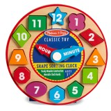 Melissa & Doug Shape Sorting Clock