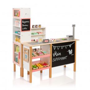 MUSTERKIND Kaufladen Alnus - weiss / apricot