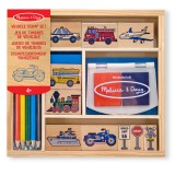 Melissa & Doug 12409 Vehicle stamp set