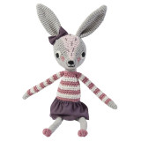 Sebra Häkel-Tier, Kaninchen Roberta
