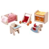 Haba Little Friends – Puppenhaus-Möbel Kinderzimmer