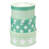 Kids Concept Pappboxen-Set, mint