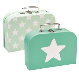 Kids Concept Koffer-Set, Star mint