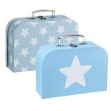 Kids Concept Koffer-Set, blau