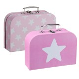Kids Concept Koffer-Set, rosa