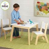 Kidkraft Moderner Tisch mit 2 Stühlen - 27025 - AUS RETOURE (2)
