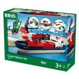 BRIO Container Hafen Set