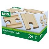 BRIO Mini rails droits