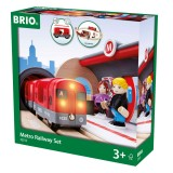 BRIO Zestaw — Kolejka metro