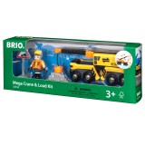 BRIO Mega-Kran-Set mit Figur