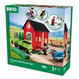 BRIO Pferde Bahn Spiel Set