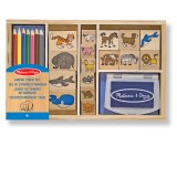 Melissa & Doug 13798 ANIMAL STAMP SET