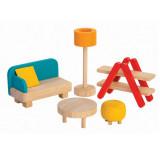 PlanToys Puppenmöbel Wohnzimmer