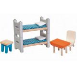PlanToys Puppenmöbel Kinderzimmer