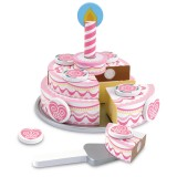 Melissa & Doug 14069 Wooden Triple-Layer Party Cake