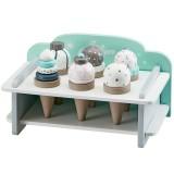 Kids Concept Eiscremehalter mit 6 Eistüten