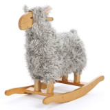 Teddykompaniet Schaukel-Lamm, grau