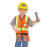 Melissa & Doug 14837 Construction worker costume