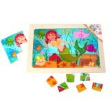 Hess Puzzle Meerjungfrau