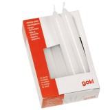 Goki Kerzen weiß