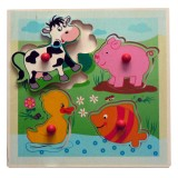 Hess Puzzle Tiere