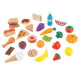 KidKraft Set de comida de juguete de 30 piezas