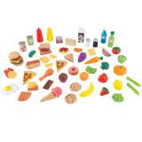 KidKraft Set de comida de juguete de 65 piezas