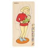 Beleduc 5-Lagen-puzzel - Moeder 17024
