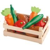 Haba Kaufladen-Set Gemüsestiege