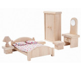 PlanToys Puppenmöbel Schlafzimmer Classic