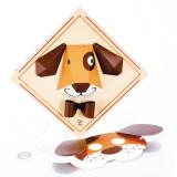 Hape Trójwymiarowy pies - E5124