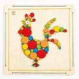 Hape Mozaika do wyklejania - kogut E5129